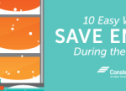 10 Easy Ways to Save Energy During the Holidays
