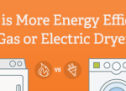 Which is More Energy Efficient a Gas or Electric Dryer?