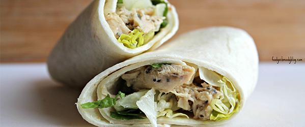 Crock-Pot® Chicken Caesar Wraps