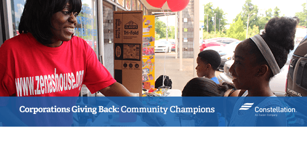 Corporations Giving Back: Community Champions
