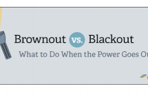 Brownout vs. Blackout: What to do when the power goes out