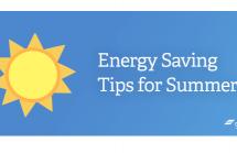 Energy Saving Tips for Summer
