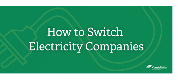How to Switch Electricity Companies