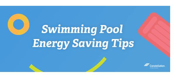 Swimming Pool Energy Saving Tips