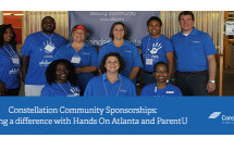 Constellation Community Sponsorships: Making a difference with Hands On Atlanta and ParentU