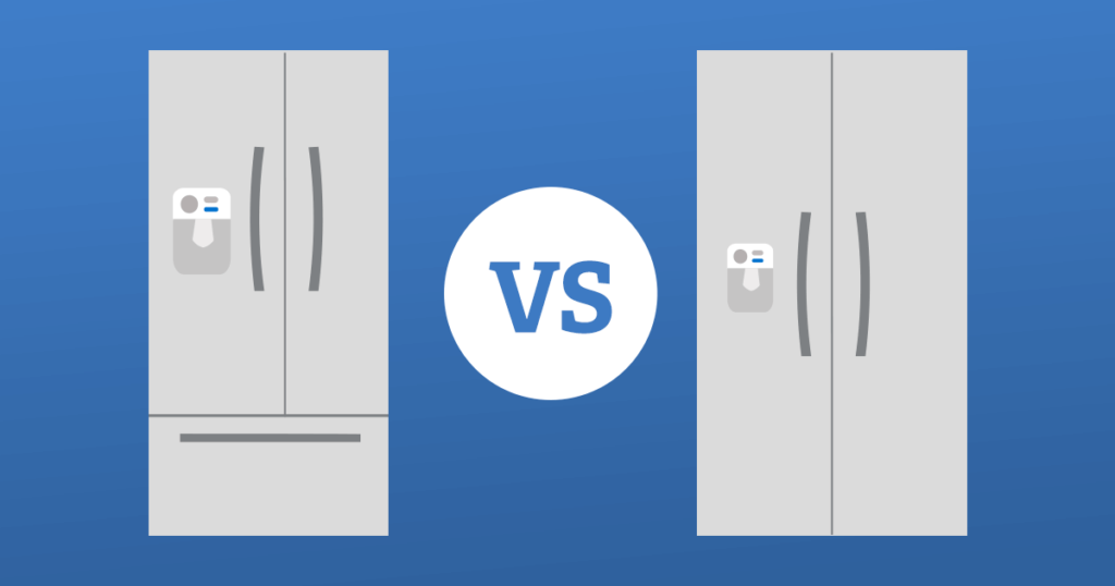 bottom-mount-freezer-vs-side-by-side-fridges