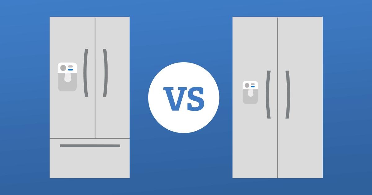 bottom-mount-freezer-vs-side-by-side-fridges