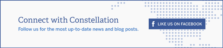 Connect with Constellation. Follow us for the most up-to-date news and blog posts.