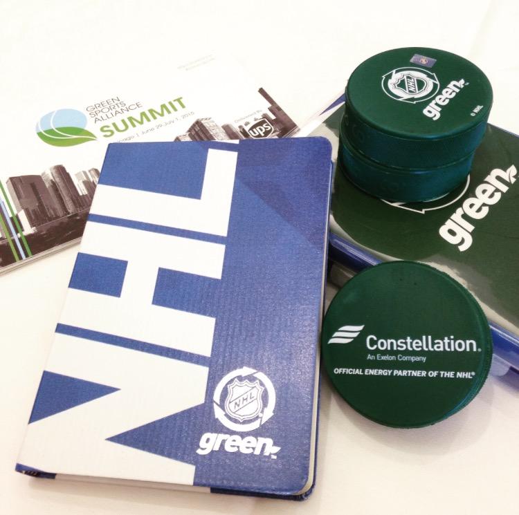 NHL Green Sports Alliance Summit