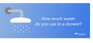 How much water do you use in a shower (Featured)