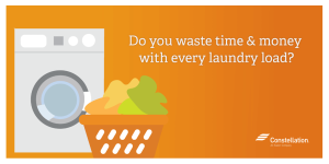 Do you waste time and money with every load of laundry? (social)
