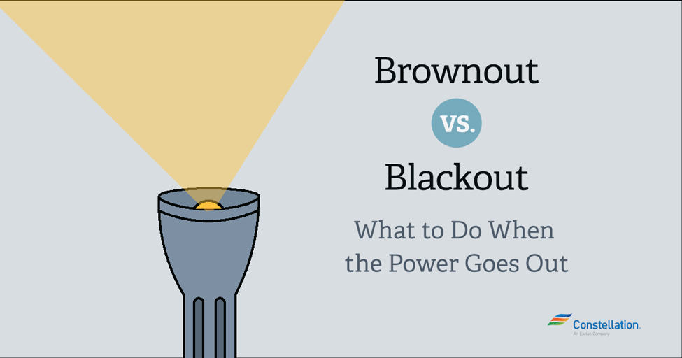 Brownout vs  Blackout: What to do when the power goes out