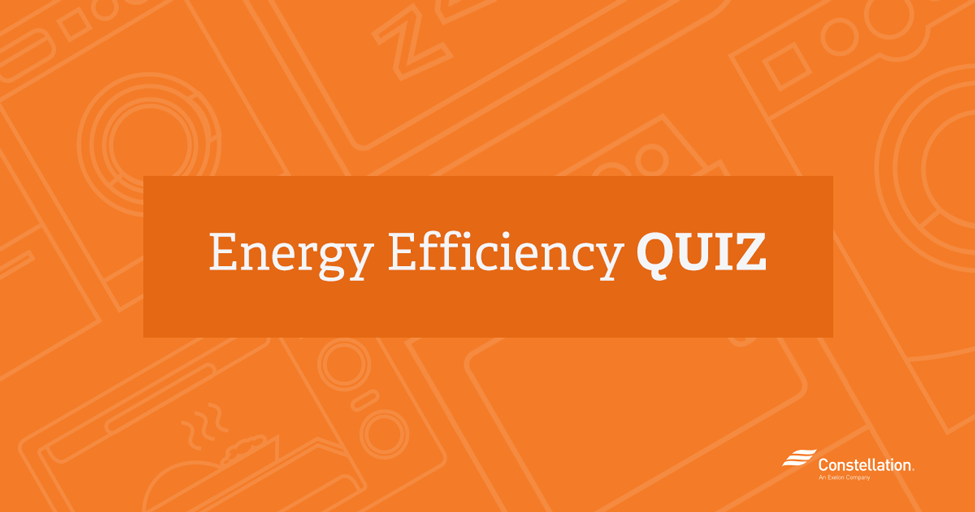 take the energy efficiency quiz