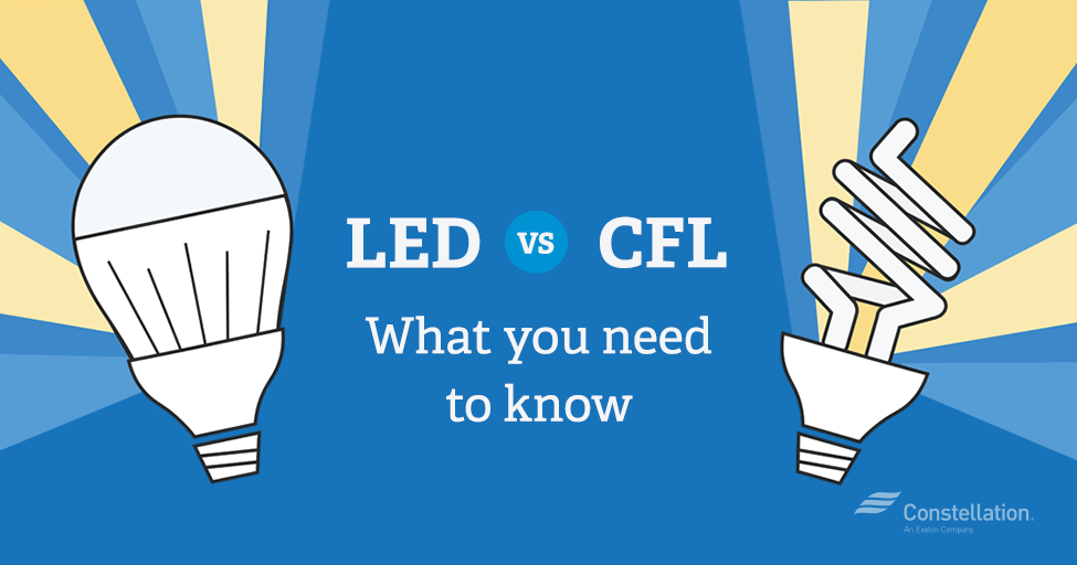 LED vs CFL Bulbs: Which is More Energy Efficient?