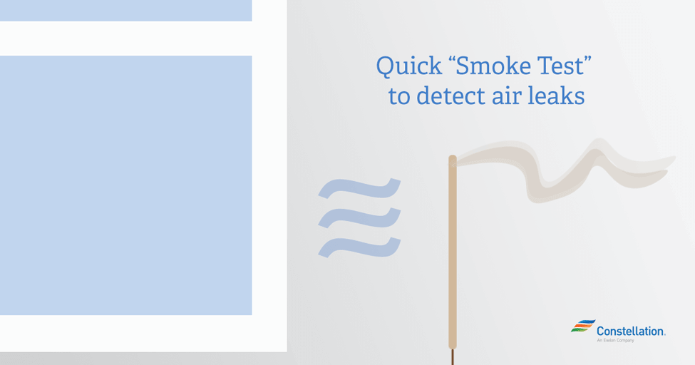 "Quick ""Smoke Test"" to detect air leaks."