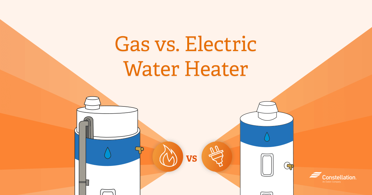 Energy Efficiency Amp Savings Gas Vs Electric Water Heaters