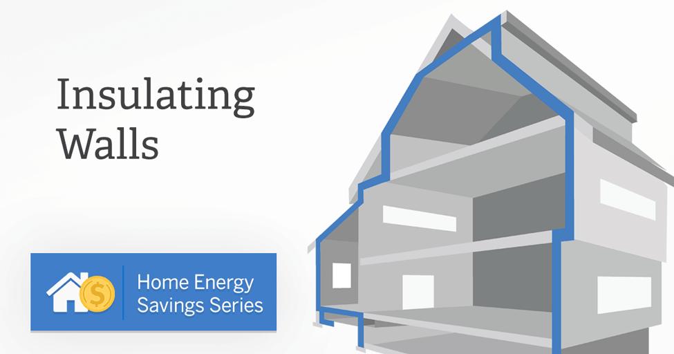 Home Energy Saving Series Wall Insulation