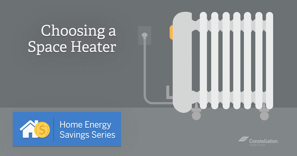 Home energy savings series choosing a space heater - Small space heaters energy efficient model ...