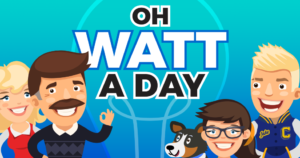 Introducing... Oh, Watt a Day