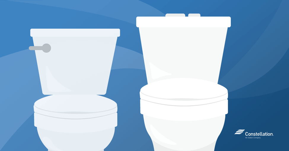 Miraculous Home Energy Savings High Efficiency Toilets Vs Regular Toilets Onthecornerstone Fun Painted Chair Ideas Images Onthecornerstoneorg