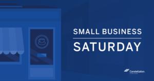 Small Business Saturday Ideas