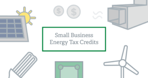 small business energy tax credits
