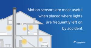 Where to Place Energy Saving Motion Sensors