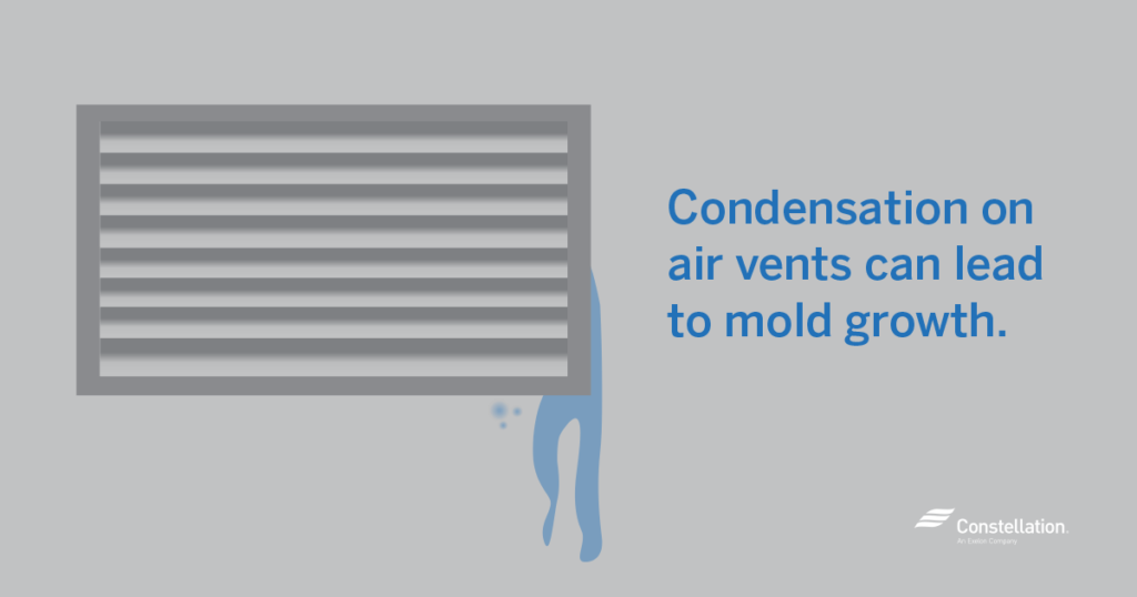 Condensation on Air Ducts