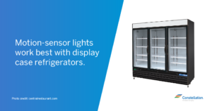 Motion Sensor Refrigerator Case