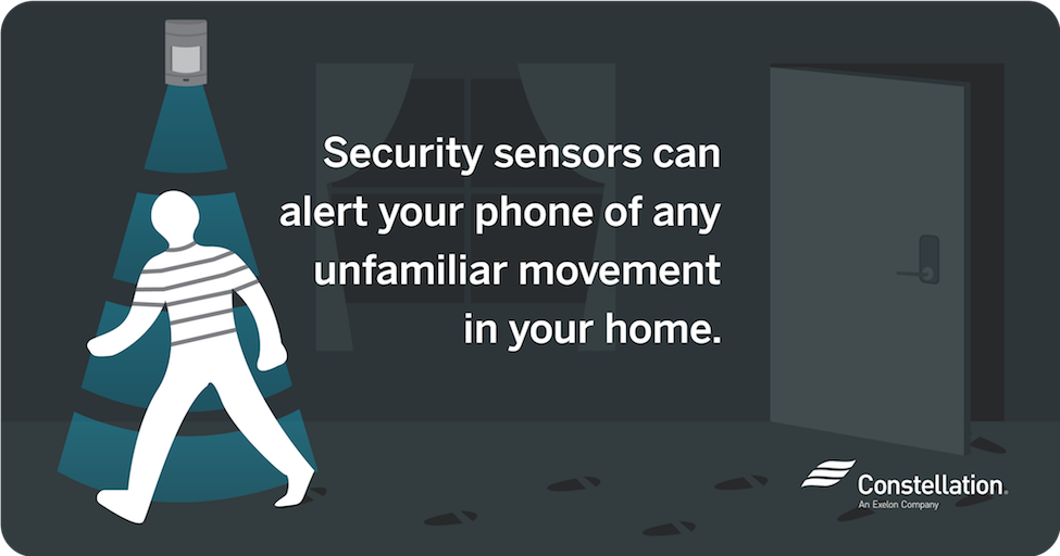 Security Sensors for Home Automation