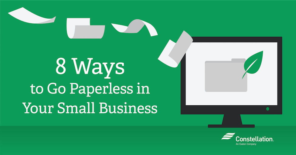 8 Ways to Go Paperless in your Small Business