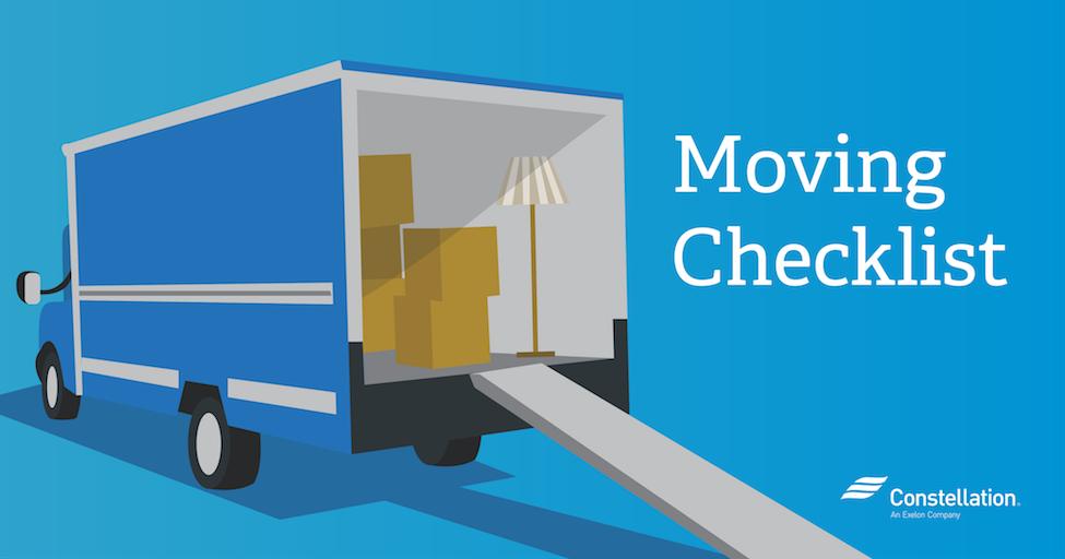 Week by Week Moving Checklist