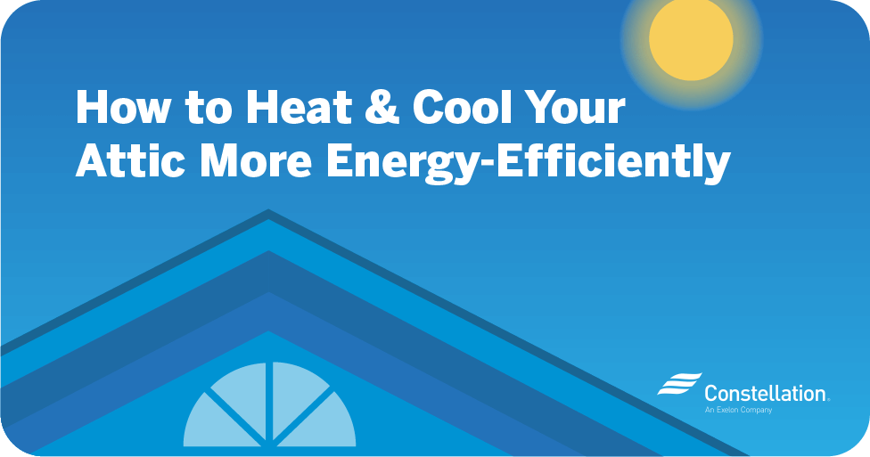 5 ways to make an energy efficient attic