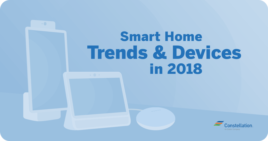 latest smart home technology 2018