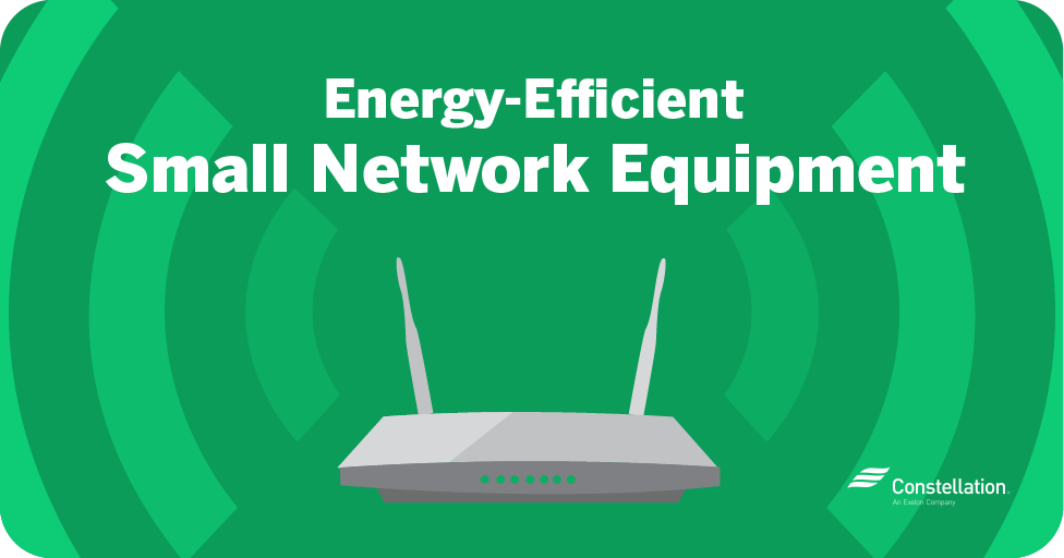 energy efficient small network equipment
