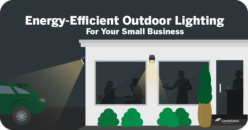 energy efficient outdoor lighting smb