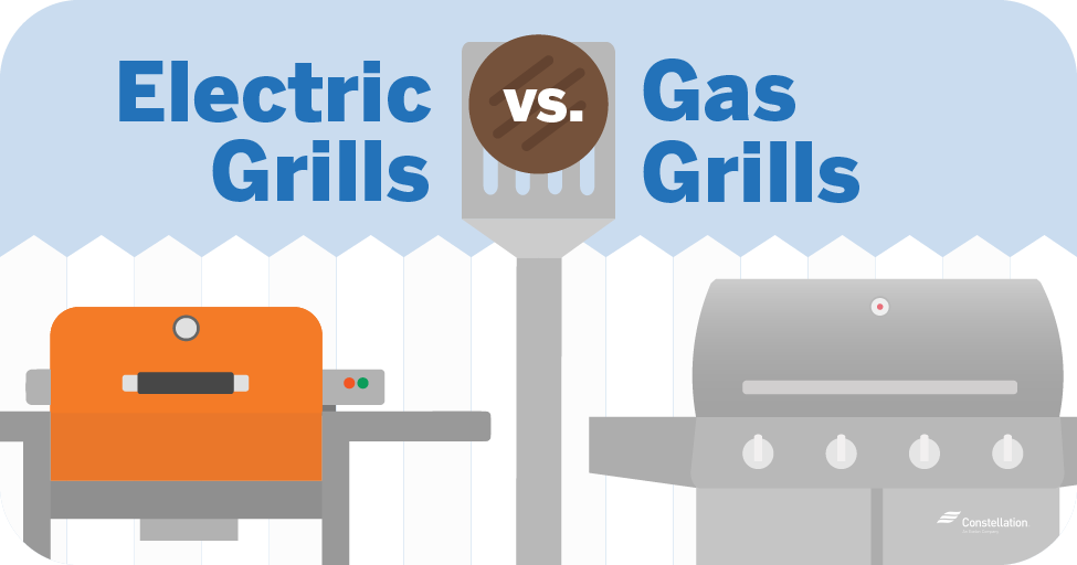 electric grills and gas grills