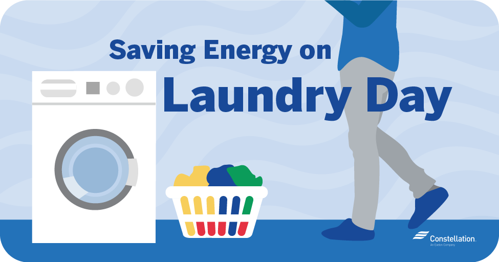 saving energy on laundry day