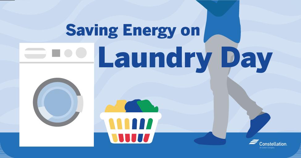 saving energy on laundry day
