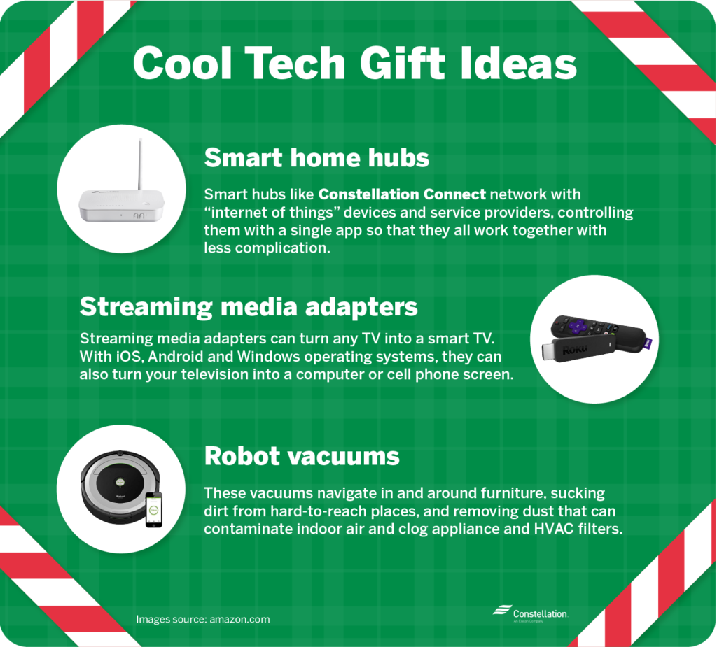 Cool tech gifts and smart home gift ideas