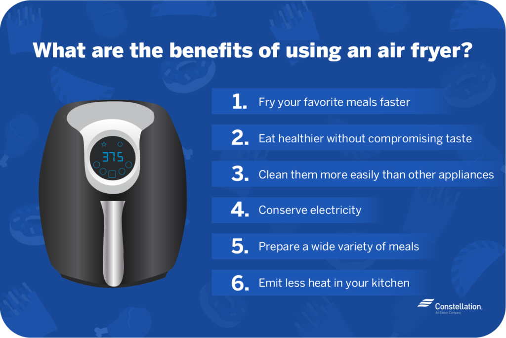 what are the benefits of using an air fryer