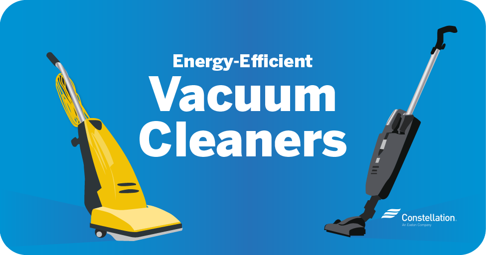 save power with energy-efficient vacuum cleaners