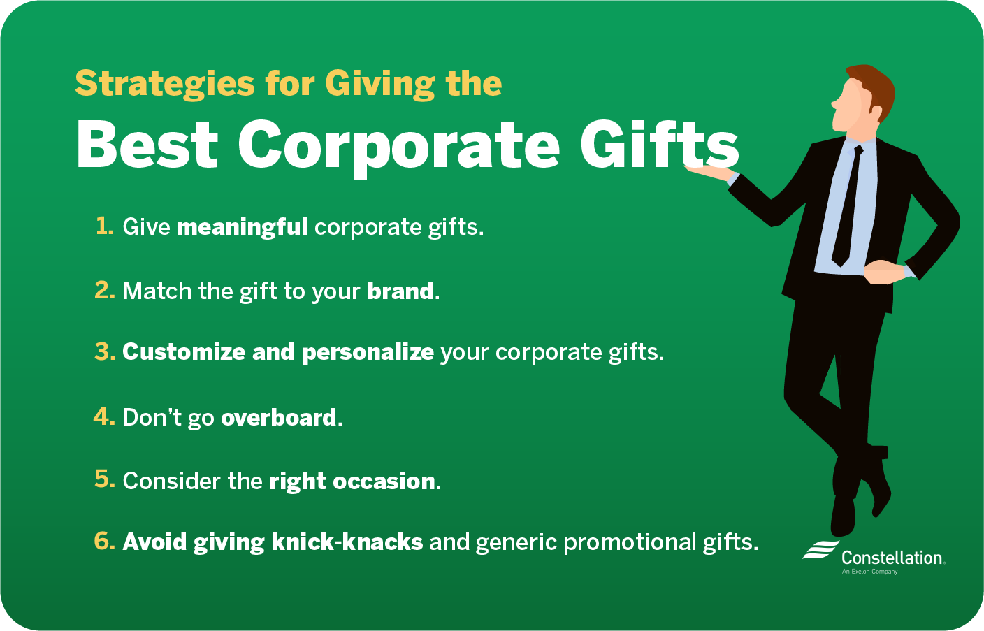 strategies for giving the best corporate gifts