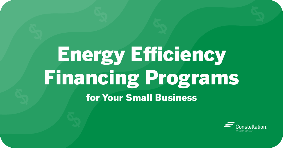 energy efficiency programs for your small business