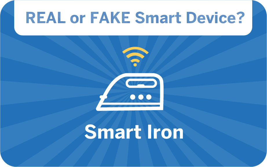 weird gadget quiz - smart iron