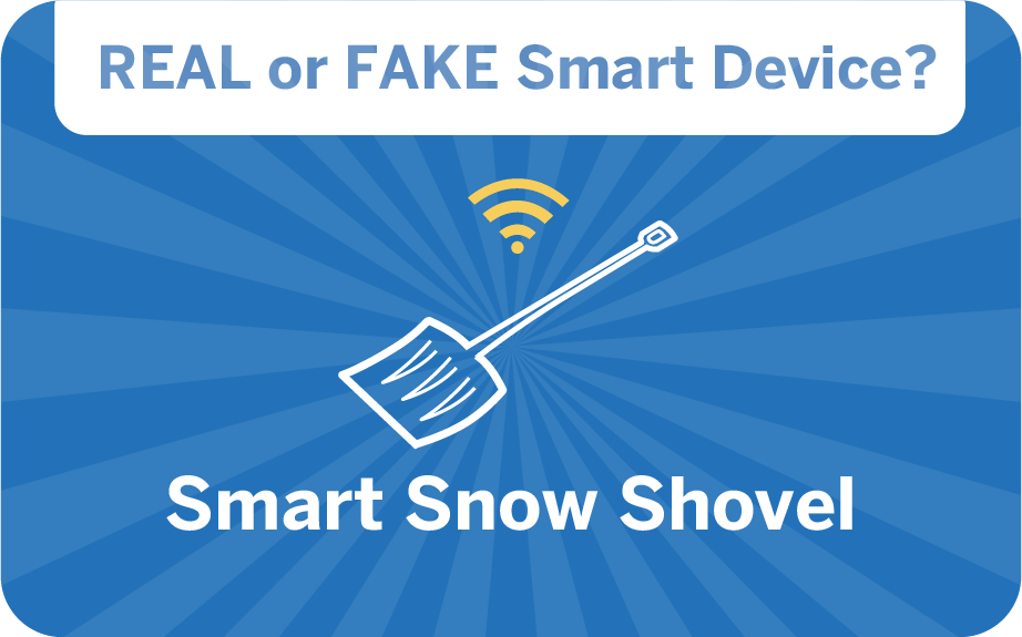 weird gadget quiz - smart snow shovel