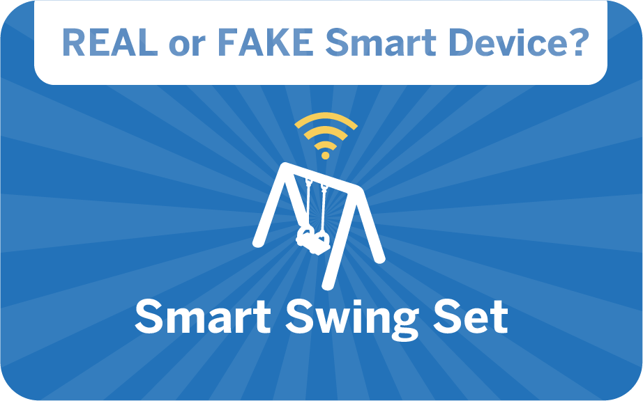 weird gadget quiz - smart swing set