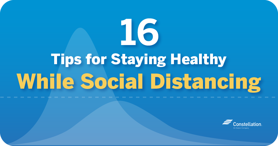 16 things to do at home while social distancing
