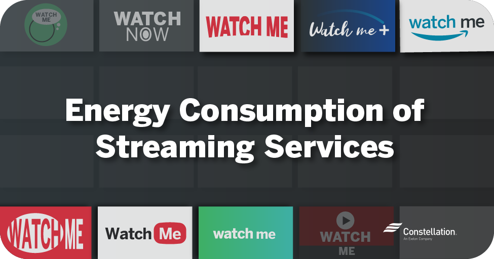 Energy consumption of streaming services