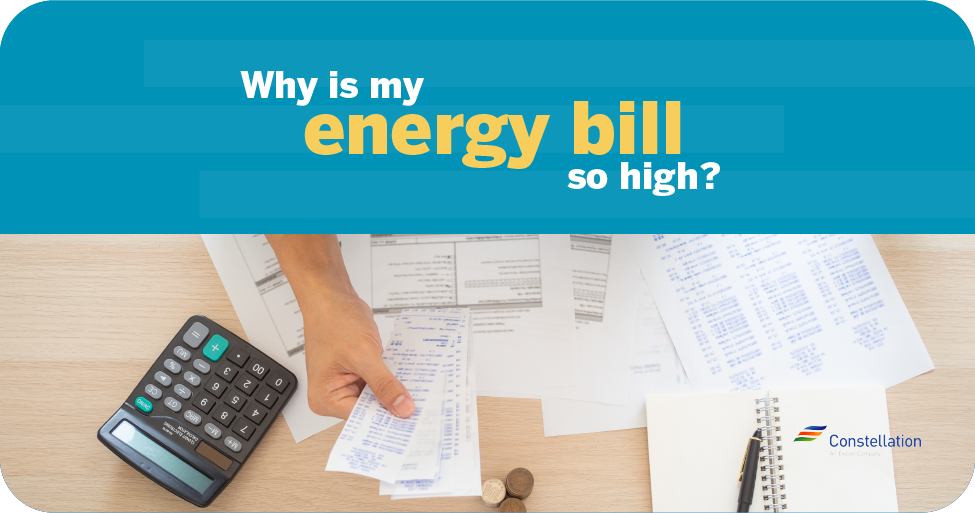 why is my energy bill higher than usual